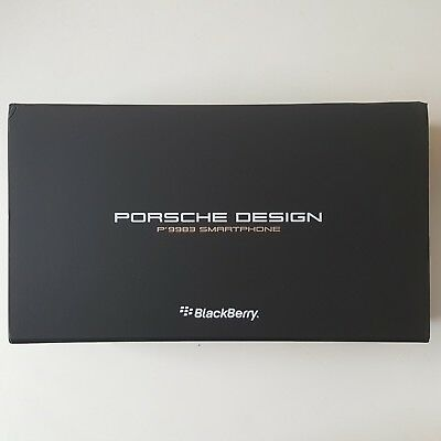 Open Box/NewOther BlackBerry Porsche Design 64GB Carbon Fiber Sealed Accessories
