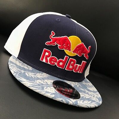 b650a2cd896 Red Bull Athlete Only Hat - Very Rare - 2018 - Hawaii Snapback Floral