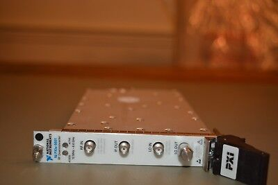 National Instruments NI PXIe-5601 RF Downconverter 10MHz to 6.6GHz