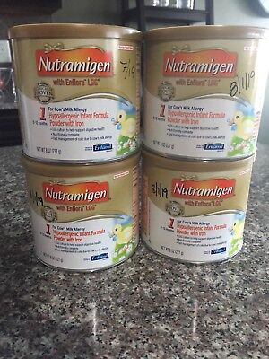 Nutramigen with Enflora LGG...Baby Formula, unopened Exp dates 7/19(1) 8/19 (3)