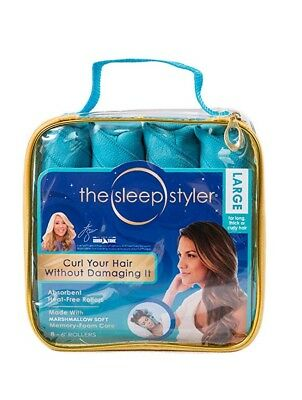 THE SLEEP STYLER For Long Hair  8 Large Rollers Curlers As seen on Shark Tank