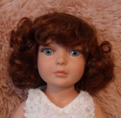 "Sweet Auburn Doll Wig Sz 13. Fits 18"" Tonner My Imagination & Others New"