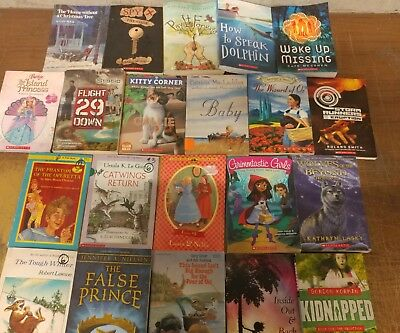 Lot of 20 Chapter Scholastic Disney RL 2 3 4 5 Child Books AR MIX UNSORTED #A35