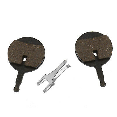 2 Piece Resin MTB Bike Disc Brake Pads For Cycling Avid BB5 Spacer Bicycle Black