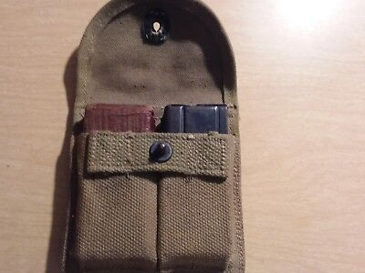 M 1 Carbine Magazine  Stock Pouch With 2 Magazine