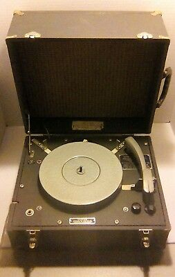 Vintage Waters Conley Turntable Phonograph Reproducer AE (3) Working