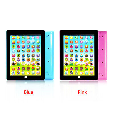 Tablet Pad Computer For Gift Learning English Kid Children Educational Teach Toy