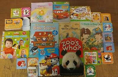 Lot of 22 Board Toddler Hardcover Picture DayCare Kid Child Books - UNSORTED A38