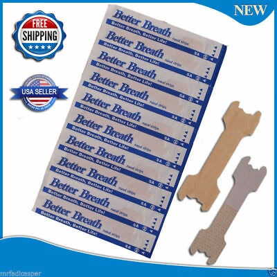 125 (100+25) NASAL STRIPS  (LARGE/TAN) Better Breath / Reduce Snoring Right Now