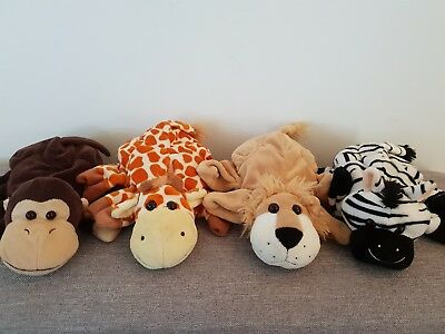 Cute Set of Animal Hand Puppets