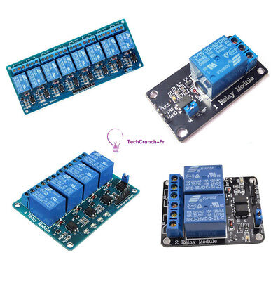 5V 1/2/4/8 Channel Relay Board Module Optocoupler LED for Arduino PiC ARM NEW