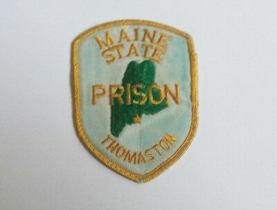 Maine State Prison At Thomaston Corrections Officer Shoulder Patch