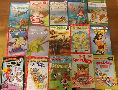 Lot of 100 Ready to-I Can Read-Step Reading RL Level 2 Learn Read Kid Books