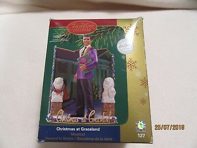 Carlton cards Elvis Presley Christmas ornament