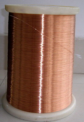 polyurethane Enameled Copper Wire 37 AWG Magnet Wire 2UEW//155 0.11mm #A36C LW