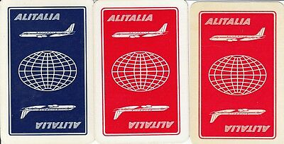 Vintage Swap / Playing Card -  3 Single Airline - A