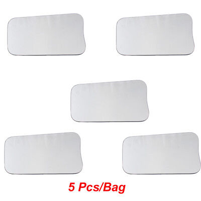 5 Pcs/Bag Dental Intraoral Orthodontic Photographic Glass Mirror 2-sided Rhodium