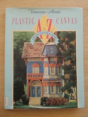 Vanessa-Ann's Plastic Canvas A-Z~Cross Stitch & More~Projects~160pp HBWC