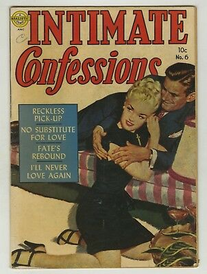 Intimate Confessions #6 (1952) GGA (VG) Reckless Pick-up
