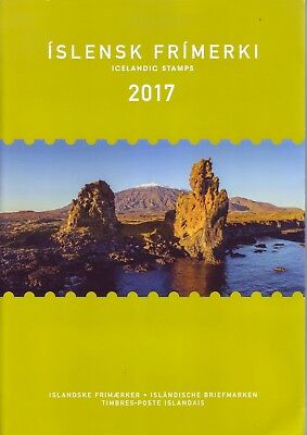 Islanda 2017 - Anno completo MNH** in Folder