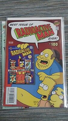 Radioactive Man Issue 100 (Bongo)