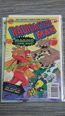 Radioactive Man #2 - Bongo Comics - February 1994- Simpsons - 2nd issue, #88 cvr