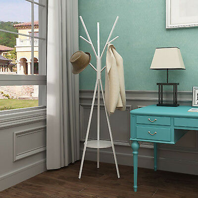 Coat Rack Coat Stand Hat Hanger Standing Entryway for Jacket Umbrella Tree Stand
