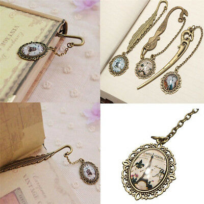 1 PC Vintage Antique Alloy Bronze Metal Bookmark Pendant Label Signet Gift New