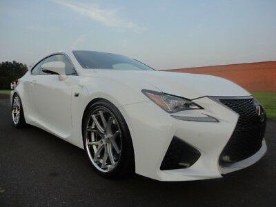 2015 Lexus RC F RC F RCF 2015 LEXUS RC F V8 RED INTERIOR 1 OWNER AS NEW CLEAN CARFAX LOW MILE WE FINANCE