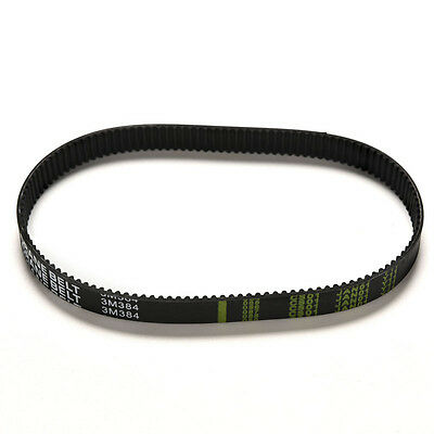 Replacement 384mm Length Drive Belt LJD 384-3M-12 Escooter Electric Scooter LJ