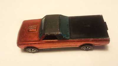 Hot Wheels Redline Fleetside very rare early base tail and front painted version