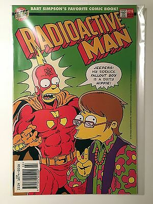 BONGO Group Comics RADIOACTIVE MAN #216 COMIC No 216 NEAR MINT
