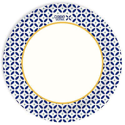 """Dixie Ultra Paper Plates, 10 1/16"""", 100ct"""
