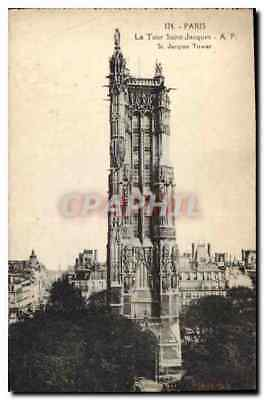 CPA Paris la Tour Saint Jacques