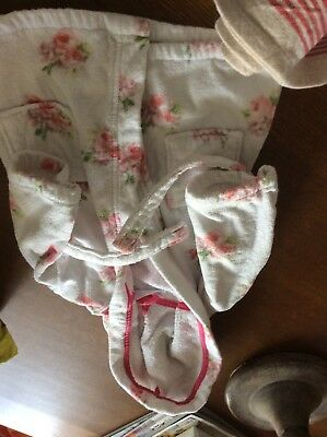 Little White Company Dressing Gown Size 12/18 Months