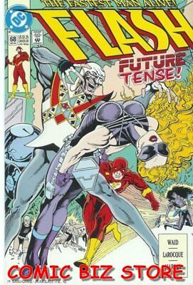 Flash #68 (1992) 1St Printing Bagged & Boarded Dc Comics