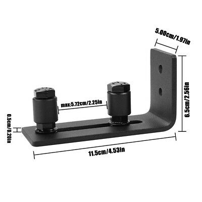 Adjustable Floor Guide Roller Wall Mount Bottom Stay Sliding Barn Door Hardware
