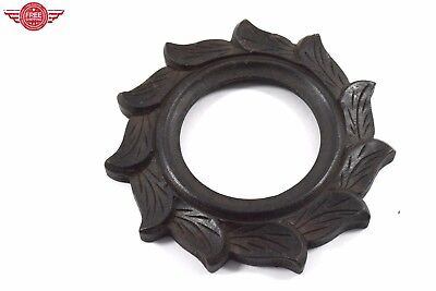 Nice Indian decorative solid wooden hand carved photo frame wall hanging. i50-27