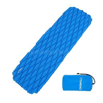 Ultralight Inflatable Mattress Air Mat Camping Hiking Sleeping Pad Bed US A3M8