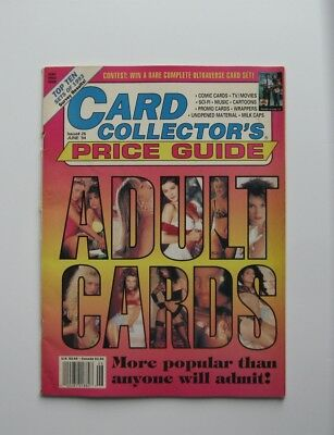 Card Collectors Price Guide - #26, June 1994 - Adult Cards