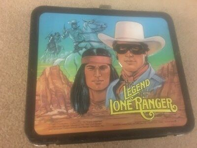 1980 Lone Ranger and Tonto Lunchbox by Aladdin