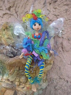 Magical Party Elf (Rainbow)-2 - Hand made By Conny