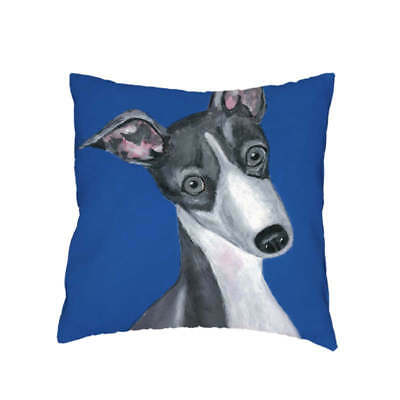 Greyhound / Whippet Gifts Cushion Cover Gift Collectables Large Pillow