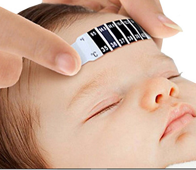 Head Thermometer Strip Fever Baby Child Adult Temperature Test