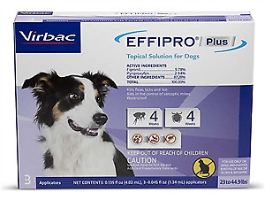 Effipro Plus for Dogs [23-44 lbs] (3 count)