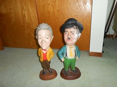 laurel and hardy statues