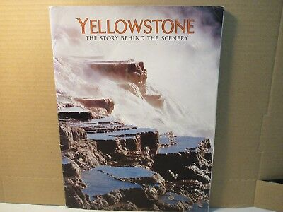 Yellowstone The Story Behind The Scenery Book 1983 National Park Free USA Ship