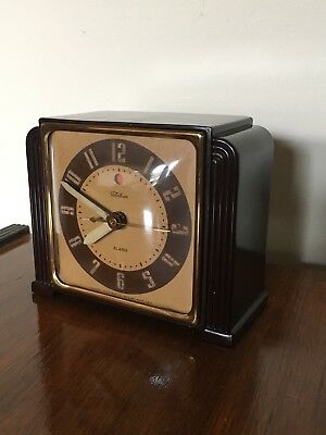"""Vintage Telechron Clock Model 7H91 """"Secretary"""" From 1942. Works Perfectly!"""