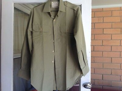 Australian army Vietnam era  battle dress  shirt 1972-never worn