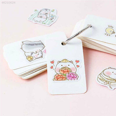 Waterproof Novelty Stickers Decal Book Decoration Creative